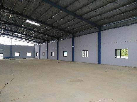 50000 Sq. Ft. Factory available for RENT at Silvassa.