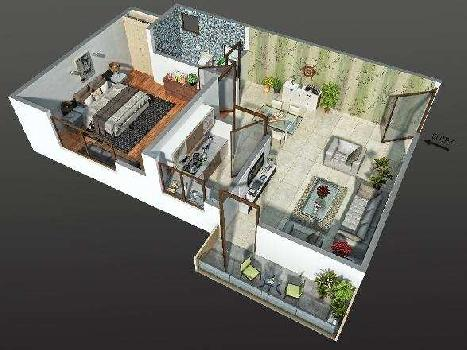 2 BHK Flats & Apartments for Sale in Lucknow